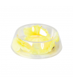 C017/B Gamelle Transparente avec Fleur Jaune Camon