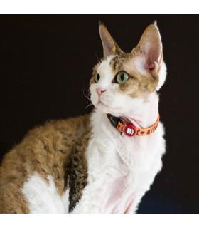 Collier Chat Nylon Egypte Dukier