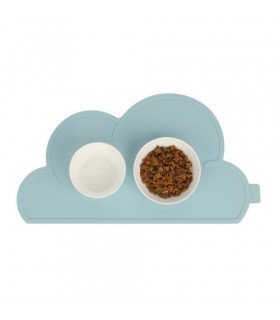 Tapis de gamelle Oops My Dog My Cloud Mat Baby Blue