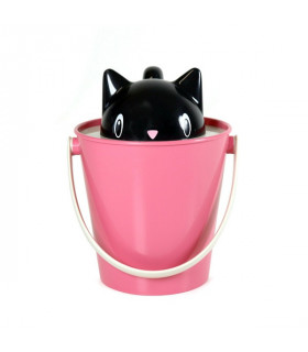 SG0101-NR Seau à Croquettes Crick Pink/Black United Pets