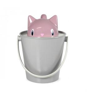 SG0101-RG Seau à Croquettes Crick Pink/Grey United Pets