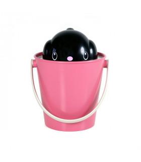 SG0201-NR Sceau à Croquettes Crock Pink/Black United Pets