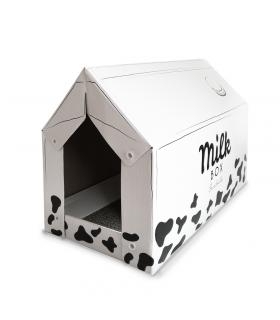 GTT668 Maison Griffoir en Carton Pour Chat Ferribiella