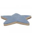 T1013 Tapis étoile Bleu Ferribiella