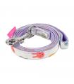 AL7555 Laisse Imprimé Lapin Purple Pinkaholic