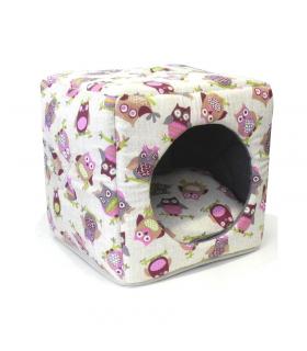Cube 2 en 1 Hiboux Croci