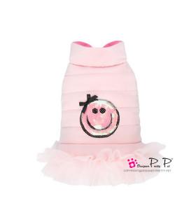 P0251-P Doudoune Pretty Pet Happy Dress Pink