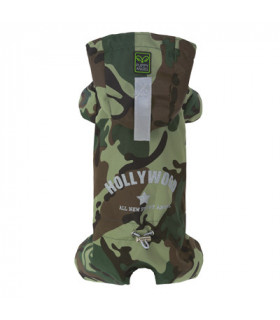 OW302 Imper Puppy Angel Multi Protect Raincoat Camo 200 PATTERN