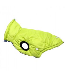 OW316 Doudoune Puppy Angel Ultra Light Love Dog (Front Button, Regular) Green