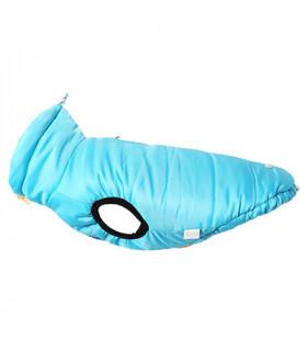 OW316 Doudoune Puppy Angel Ultra Light Love Dog (Front Button, Regular) Blue