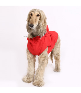 OW300 Imper Puppy Angel Multi Protect Raincoat RED 337