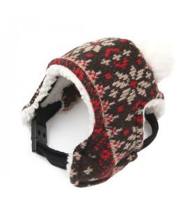 AC131 Bonnet Puppy Angel Eskimo Hat Rouge RD
