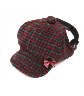 AC134 Casquette Puppy Angel Hunting Cap Red RD