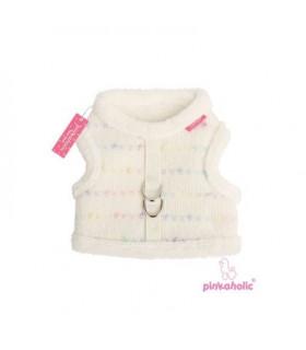 AH6751 Harnais Pinkaholic Candy Mist Pinka Harness Ivory