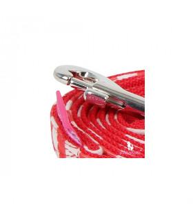AL7008 Laisse Pinkaholic Picnic Pinka Leash RED