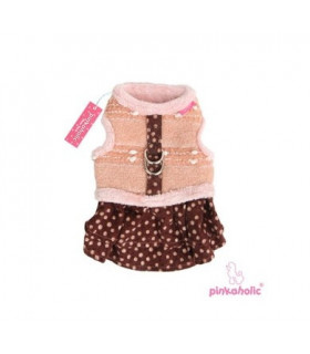 AH6758 Harnais Pinkaholic Elise Flirt Pinka Harness Pink