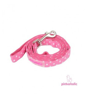 AL006 Laisse Pinkaholic Premium Pinka Leash Pink