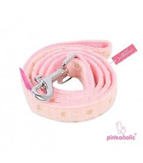 AL7074 Laisse Pinkaholic Cubby Flirt Pinka Leash PINK