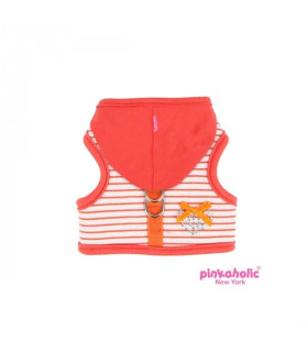 AH557 Harnais Pinkaholic Sweet Pinka Harness Orange