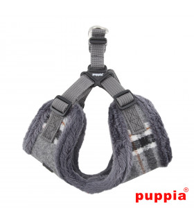 AC1467 Harnais-Double sangle Puppia Kemp Harness C Ml Grey