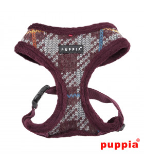 AC1465 Harnais Puppia Eldric Harness Ml Wine