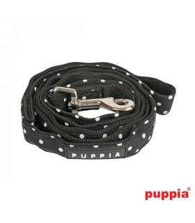 AL301 Laisse Puppia Dotty Black