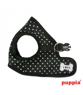 AH301 Harnais Puppia Dotty Harness B Black