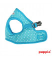 AH301 Harnais Puppia Dotty Harness B Sky Blue