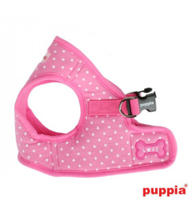 AH301 Harnais Puppia Dotty Harness B Pink