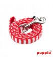 AL1411-Laisse Puppia Beach Party Red