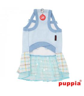 OP1423 Robe Puppia Tot Sky Blue