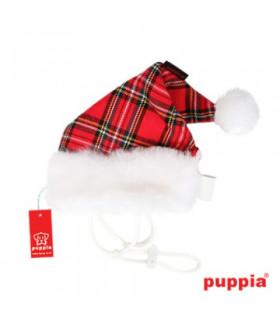 SH23 Bonnet Noël Puppia Santa s Hat Ecossais