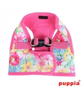 AH1315-Harnais Puppia Spring Garden Harness B Pink