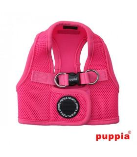 AH1325 Harnais Veste Respirante Neon Pink Puppia