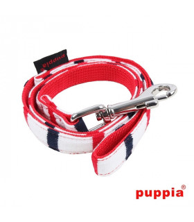 AL1307-Laisse Puppia Eos Lead Red
