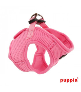 AH305 Harnais Veste Respirant Soft Pink Puppia
