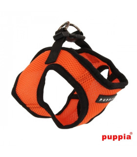 AH305 Harnais Veste Respirant Soft Orange Puppia