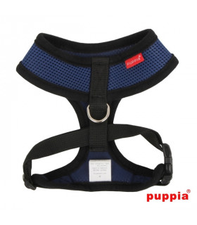 AC30 Harnais Puppia Soft Harness Royal Blue