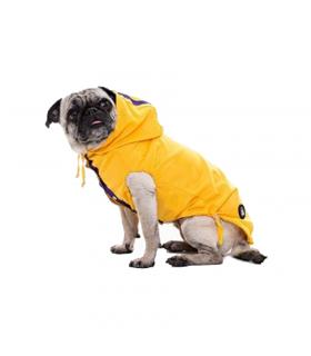 Imper I LOVE MY DOG Wind Jacket 2 Legs Fuxia