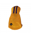 Imper I LOVE MY DOG Wind Jacket 2 Legs Yellow