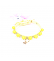 Collier Sparkling Jaune Luxury Dogs