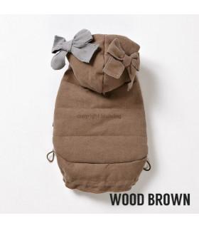 Doudoune LouisDog My Beffies Wood Brown