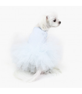 DR157 Robe Puppy Angel TUTU Dress 714 Blue