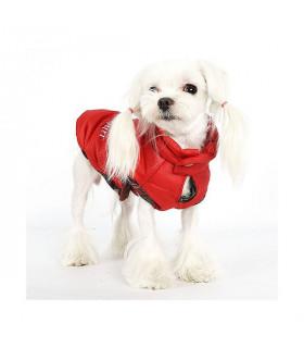 OW224 Doudoune Puppy Angel Potobello Rose Padding Vest Rouge 315 RED