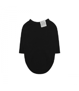 TS304 Tee-shirt Puppy Angel Daily Long Sleeve Black 999