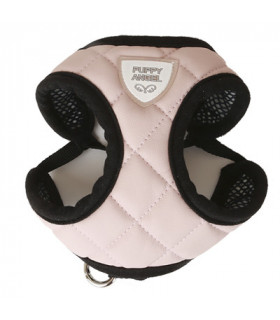 HA209 BHarnais Puppy Angel DU ANGIONE(TM) Quiltted Harness Set Pink 505