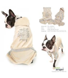 OR003 Jogging Puppy Angel Crown Royale Beige BG