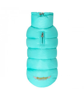 OW230 Doudoune Puppy Angel Love Faux Down Turquoise 709