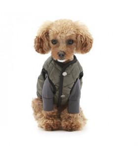 OW341 Doudoune Puppy Angel MAC Daily Padded Vest 3 Khaki 863