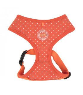 HA1529 Harnais A Puppia Dotty Harness Orange